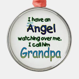 ANGEL CALLED GRANDPA CHRISTMAS TREE ORNAMENTS
