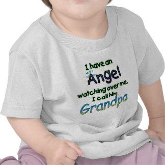 ANGEL CALLED GRANDPA T SHIRT