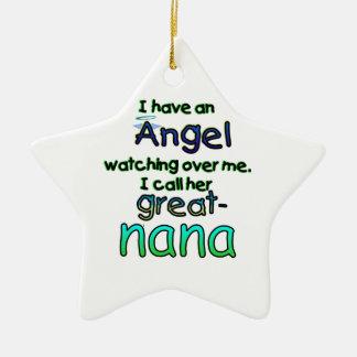 ANGEL CALLED GREAT-NANA CHRISTMAS TREE ORNAMENT