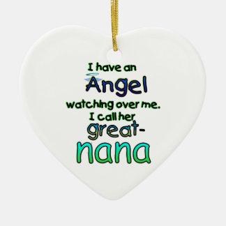 ANGEL CALLED GREAT-NANA CHRISTMAS ORNAMENT