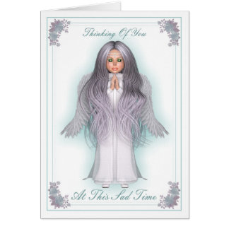 ANGEL CARD - At This Sad Time