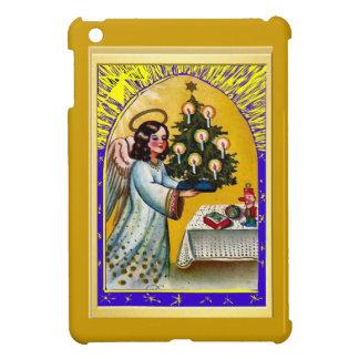 Angel carrying a Christmas tree iPad Mini Case