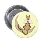 Angel Cat 1 Button
