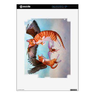 Angel Cat and Mouse Game Skin For iPad 2
