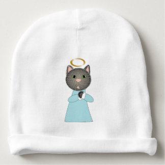 Angel Cat Baby Beanie