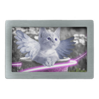 angel cat belt buckle