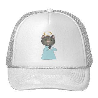 Angel Cat Mesh Hats