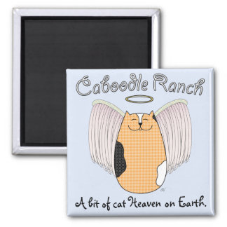 'Angel Cat' Magnet