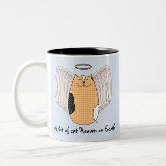 'Angel Cat' Mug