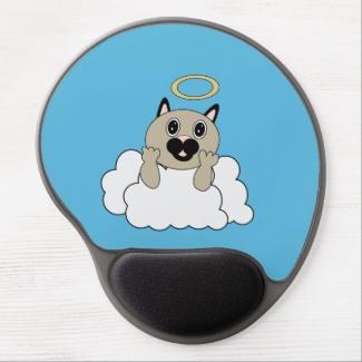 Angel Cat on Cloud
