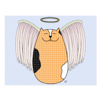 'Angel Cat' Postcard