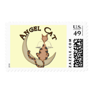 Angel Cat Stamp
