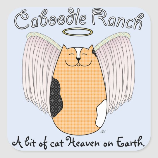 'Angel Cat' Sticker