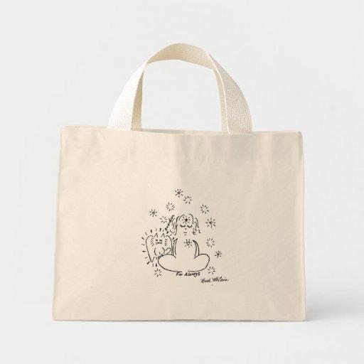 Angel Cat Tote Bag