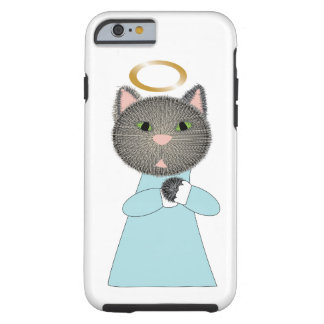Angel Cat Tough iPhone 6 Case