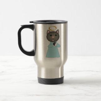Angel Cat Travel Mug