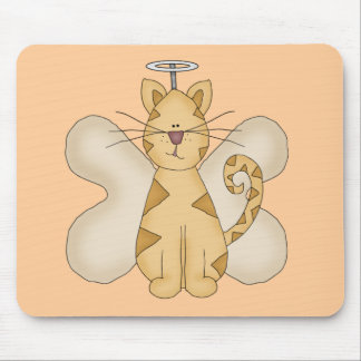Angel Cat Tshirts and Gifts Mouse Pad