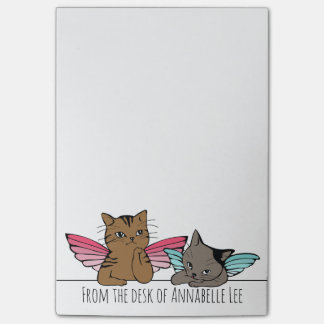 Angel Cats Post-it Notes