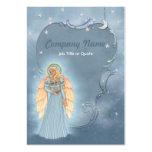 Ángel celestial tarjeta de visita