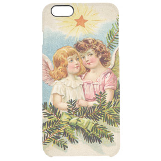 Angel Cherub Evergreen Bough Heaven Clear iPhone 6 Plus Case