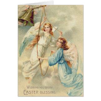 Angel Cherub Heaven Ringing Bell Card