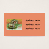 Angel Cherub Sun Lamb Sheep Business Card