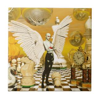 angel chess ceramic tiles