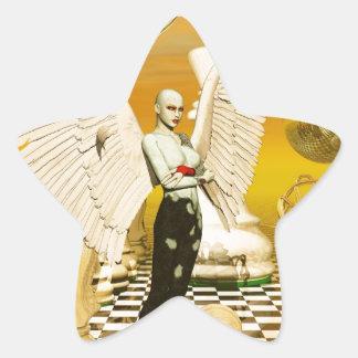 angel chess sticker