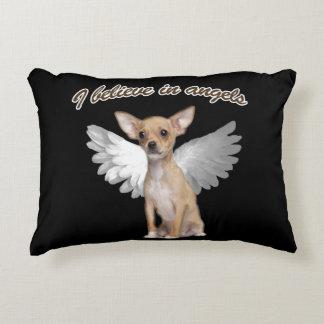 Angel Chihuahua Decorative Pillow