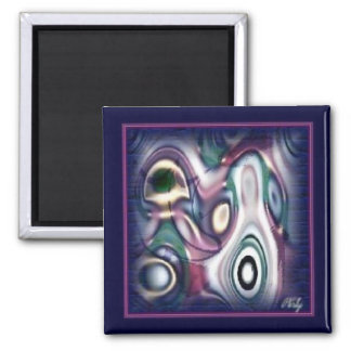 Angel & Child Abstract Magnet
