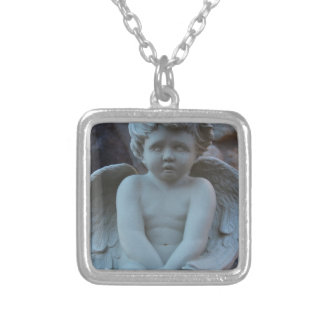 Angel Child Silver Plated Necklace