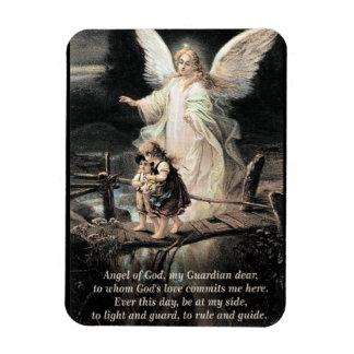 Angel, Children, Bridge, Poem Magnet
