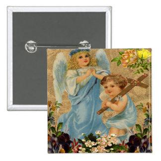 Angel Children Button