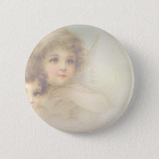 Angel Children Pinback Button