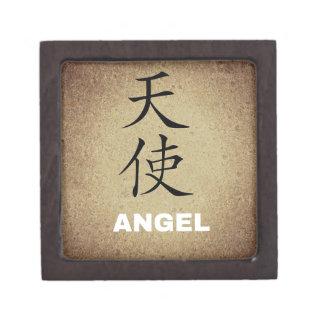 Angel Chinese Character Jewelry Box
