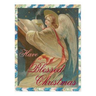 Angel Christmas - Postcard