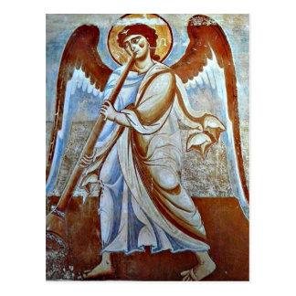 Angel Christmas postcard