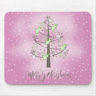 Angel Christmas Tree Orchid Pink ID197 Mouse Pad