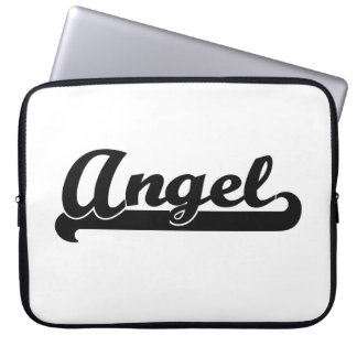 Angel Classic Retro Name Design Laptop Computer Sleeves