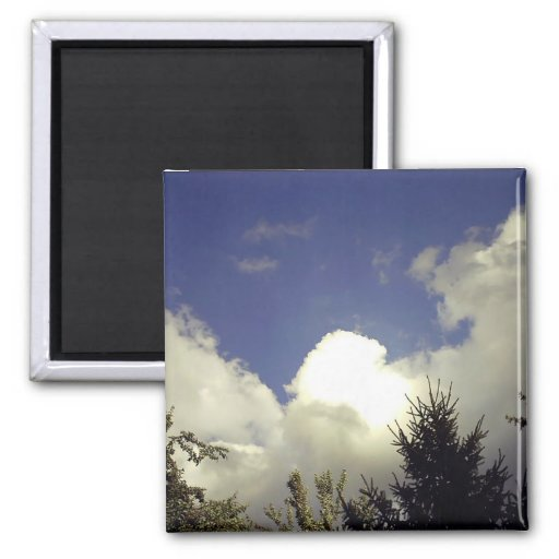Angel Cloud Fridge Magnet