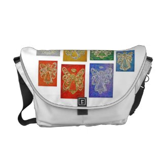 Angel Color Series Messenger Tote Computer Bag