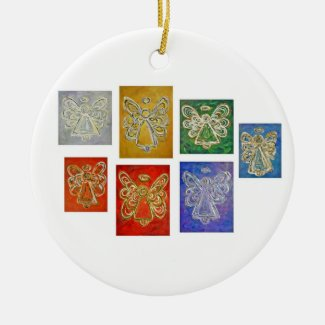 Angel Color Series Ornament