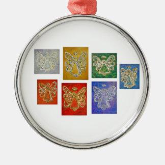 Angel Color Series Ornaments
