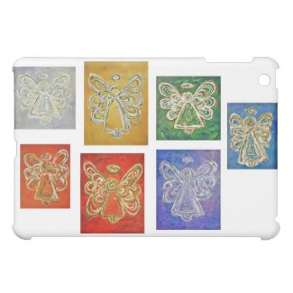 Angel Color Series Paintings iPad Hard Case Cover For The iPad Mini