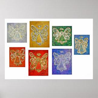 Angel Color Series Poster Art Print