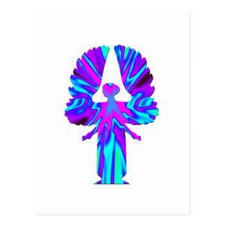 Ángel colorido tarjetas postales