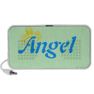 Ángel con el altavoz del halo