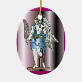 Ángel con el helecho - ornamento adorno para reyes