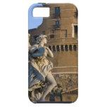 Ángel con el Superscription delante del Castel Funda Para iPhone SE/5/5s