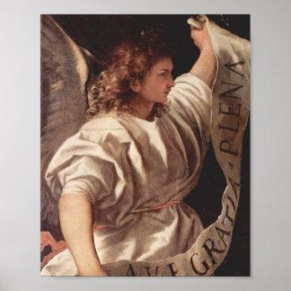 Ángel con la bandera 1522 impresiones